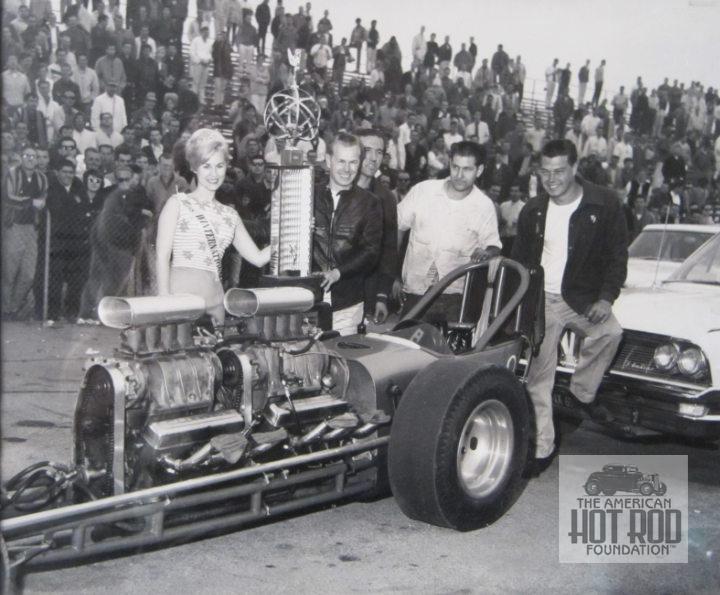 Bob Muravez With Trophy
