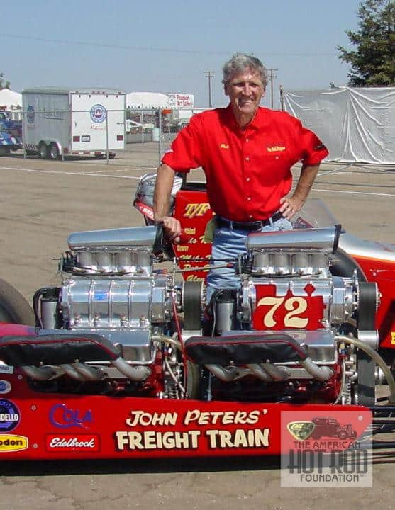 Bob Muravez with Freight Train