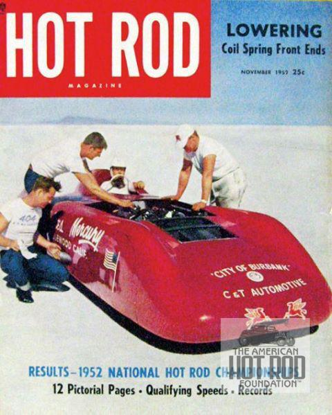 Hot Rod Magazine Cover Willie Davis