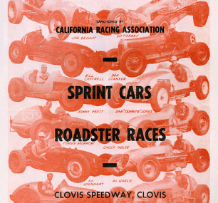 Clovis Speedway 5 27 56